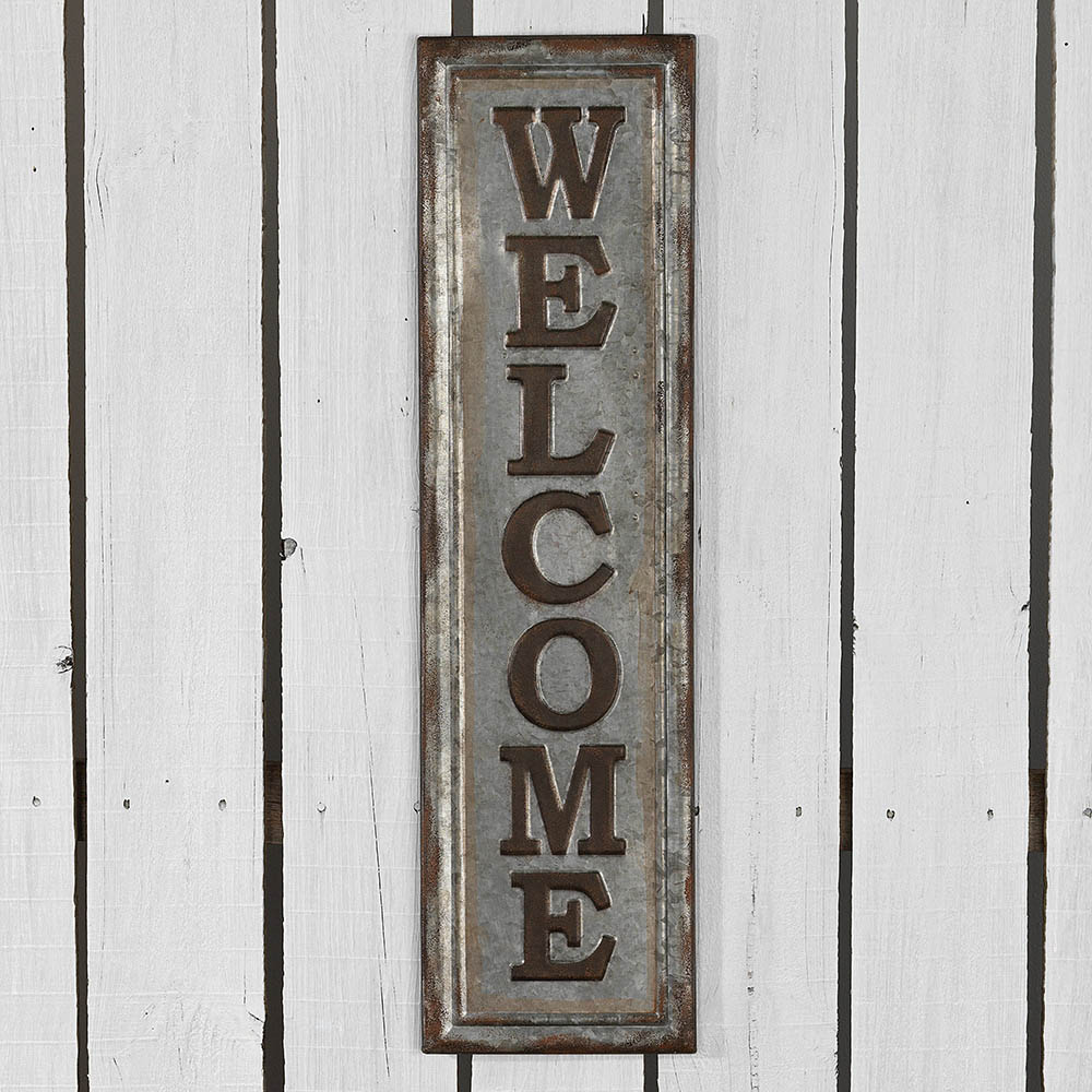 Signature HomeStyles - WELCOME Sign